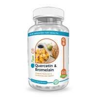 Quercetin & Bromelain ( Immune booster, Reduce Blood Pressure, Prevent Heart Disease, Reduce inflammation & Kill Cancer Cells) 60 capsules, USA