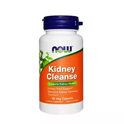 Now Supplements, Kidney Cleansing Function & Urinary Tract Support with Uva Ursi, Parsley Seed, Fennel, and Horsetail, 90 counts, USA
