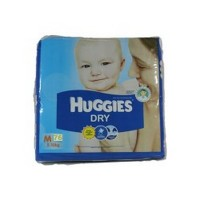 Huggies Dry Diapers 76pcs (M)-Malaysia