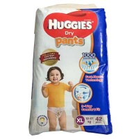 Huggies Dry pants (XL)12-17kg 42Pcs