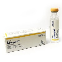 Actrapid 100 i.u 10ml Vial