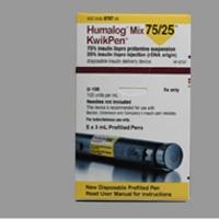 Humalog Mix Kwik Pen 75/25