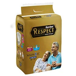 "ACI Savlon Respect Adult Diaper L (38""-57"")"