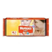 Huggies Dry New M 5pcs