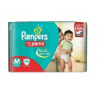 Pampers Diaper Pant Dry(M) 56 pcs.-India